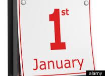 january 1