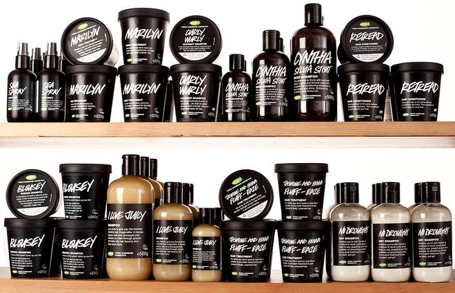 Lush Shampoo