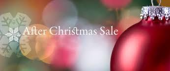 afterxmas sale