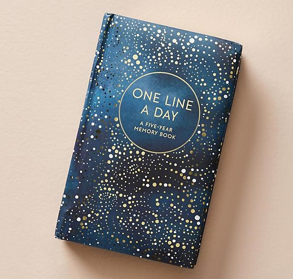 Anthropologie 5 year journal $16.99