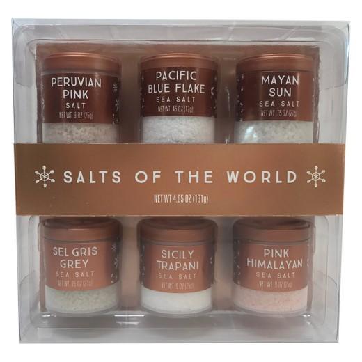 Christmas salts of the world