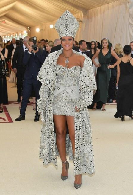 Met 2018-Rihanna